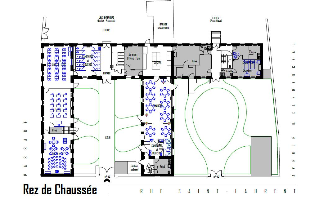 plan cuisine professionnelle gratuit plans 2d et 3d cuisine pro 64 c te basque implantation. Black Bedroom Furniture Sets. Home Design Ideas