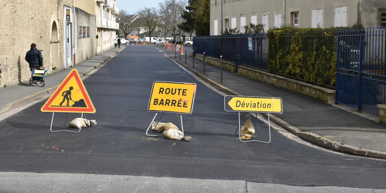 Travaux à Bayeux
