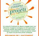 Affiche réunion de lancement à Bayeux