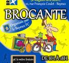 Affiche Brocante Bayeux