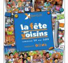 Affiche de la fête des voisins à Bayeux