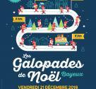 Affiche Galopades de Noël 2018 à Bayeux