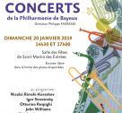 Affiche du concert de la Philharmonie