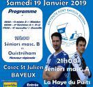 Affiche match de handball