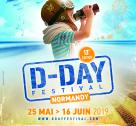 Affiche du D-Day Festival Normandy 2019