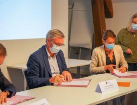 Signature du contrat de mobilisation et de coordination par la Ville de Bayeux