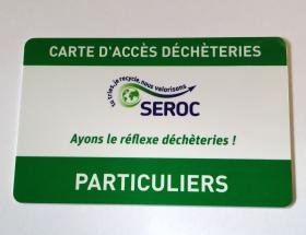 Carte d'accès déchèteries Bayeux