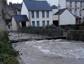 Inondations à Bayeux en novembre 2019