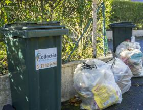 Bacs et sacs de déchets à Bayeux