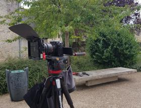 Tournage d'un film à Bayeux