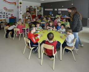Enfants au 3 DIX-HUIT de Bayeux