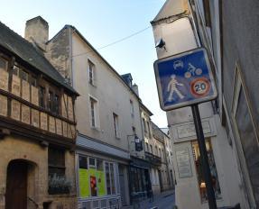 Zone de rencontre rue des Cuisiniers à Bayeux