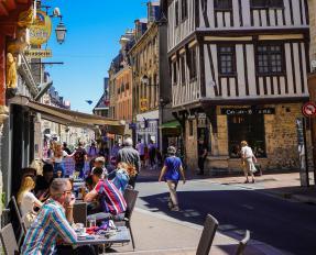 Terrasses à Bayeux