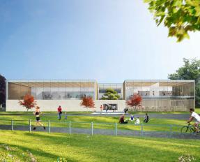 Projection Complexe Eindhoven - Ferret Architectes