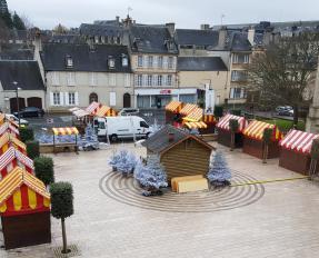 Marché de Noël à Bayeux