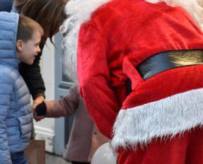 Père Noël à Bayeux