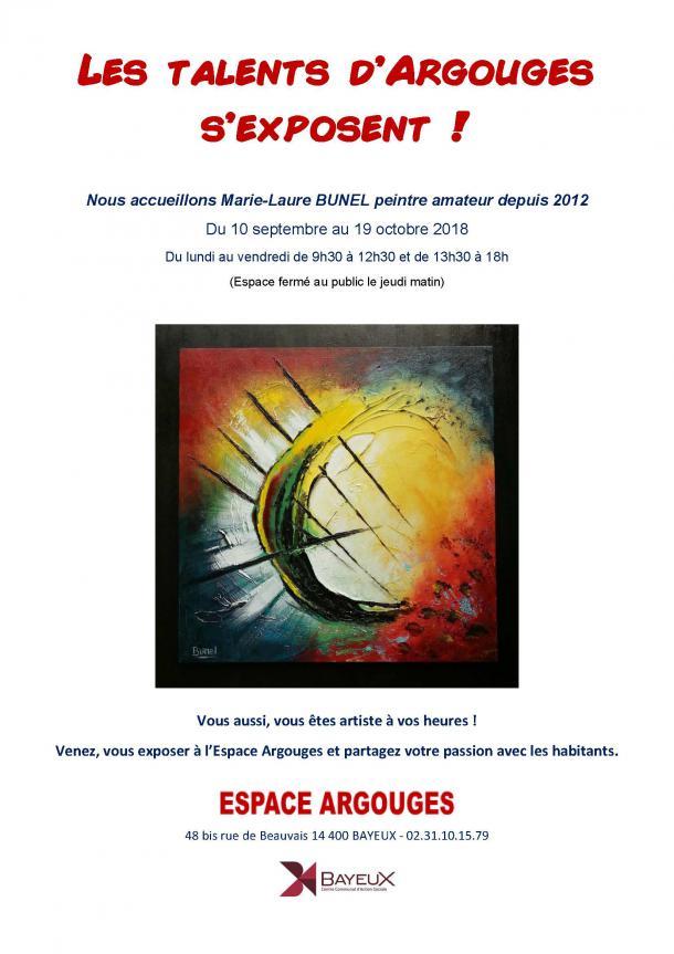 Exposition Argouges Septembre 2018 à Bayeux