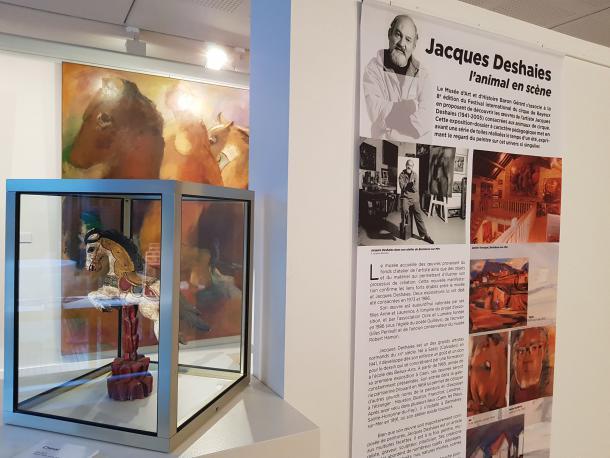 Exposition Jacques Deshaies à Bayeux