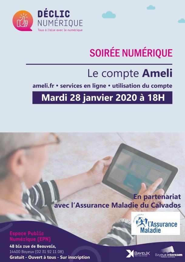Soirée numérique : le compte Ameli