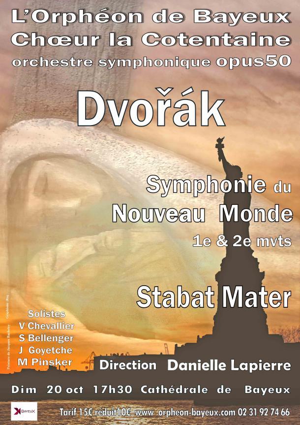 Affiche concert de l'Ophéon à Bayeux