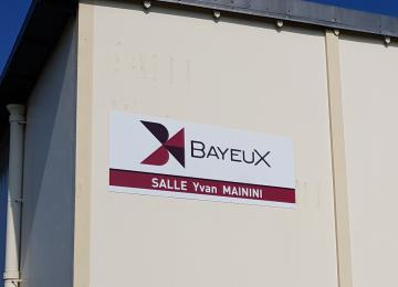 Salle Yvan Mainini à Bayeux