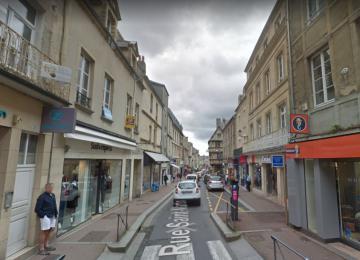 Rue Saint-Martin à Bayeux