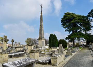 Cimetière de l'ouest à Bayeux