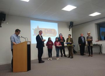 Les nouveaux élus du CMEJ de Bayeux