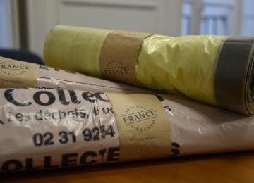 Sacs de déchets Collectéa à Bayeux