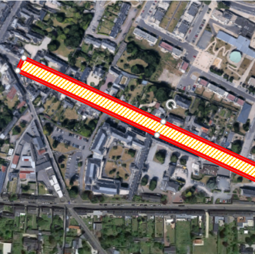 Plan de travaux rue Saint-Jean à Bayeux