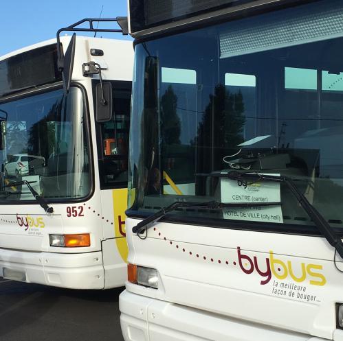 Bybus à Bayeux
