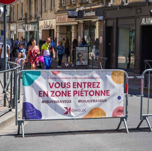 Piétonisation du centre-ville de Bayeux