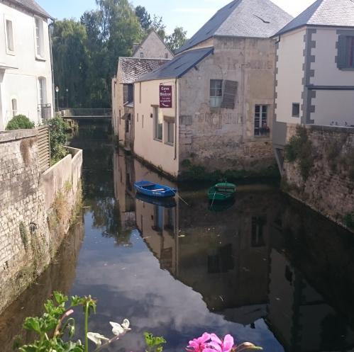 La rivière Aure à Bayeux