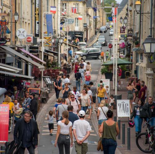 Rue Saint-Jean à Bayeux