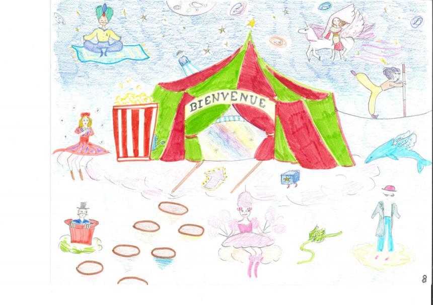 L'un des dessins lauréats du concours organisé par le CMEJ de Bayeux