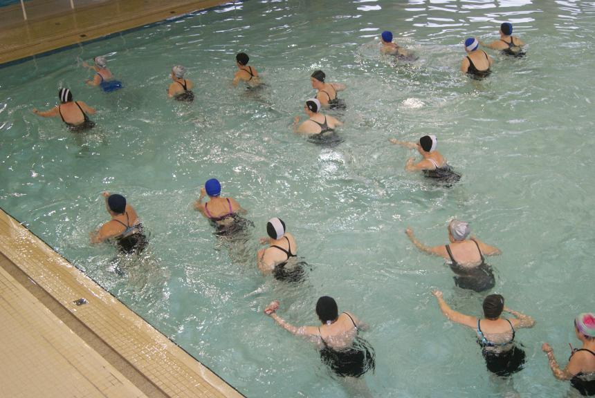 Aquagym à la piscine de Bayeux