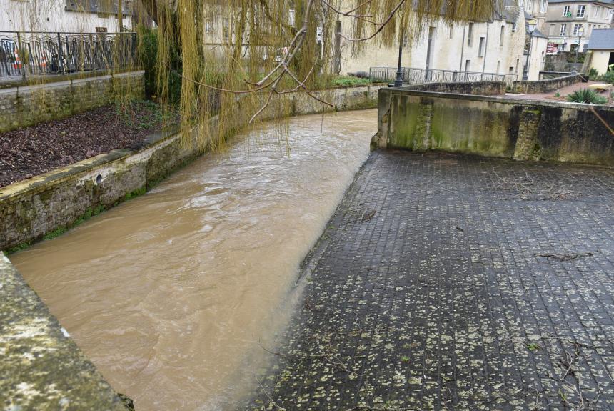 Montée de l'Aure à Bayeux