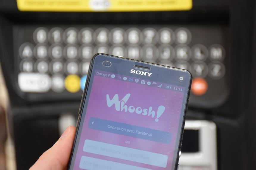Application Whoosh pour payer le stationnement à Bayeux