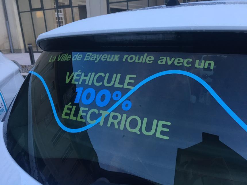 Bayeux véhicule électrique