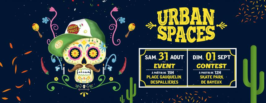 Visuel de l'Urban Spaces 2019 à Bayeux