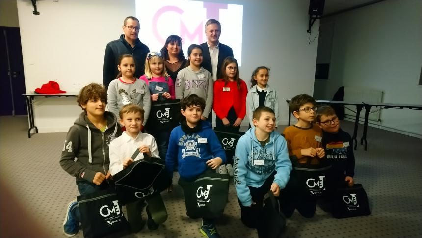 Jeunes élus du CMEJ à Bayeux