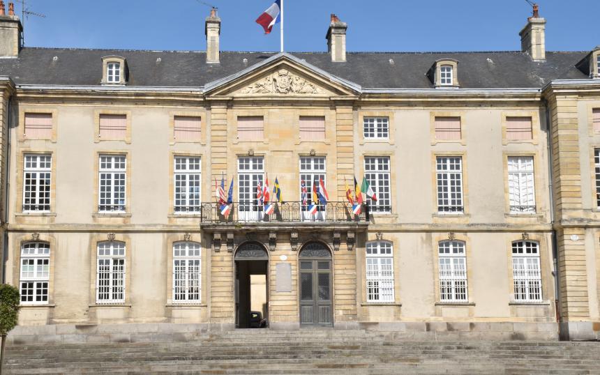 Hotel de ville de Bayeux