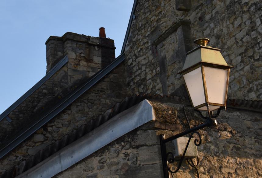 Eclairage public à Bayeux