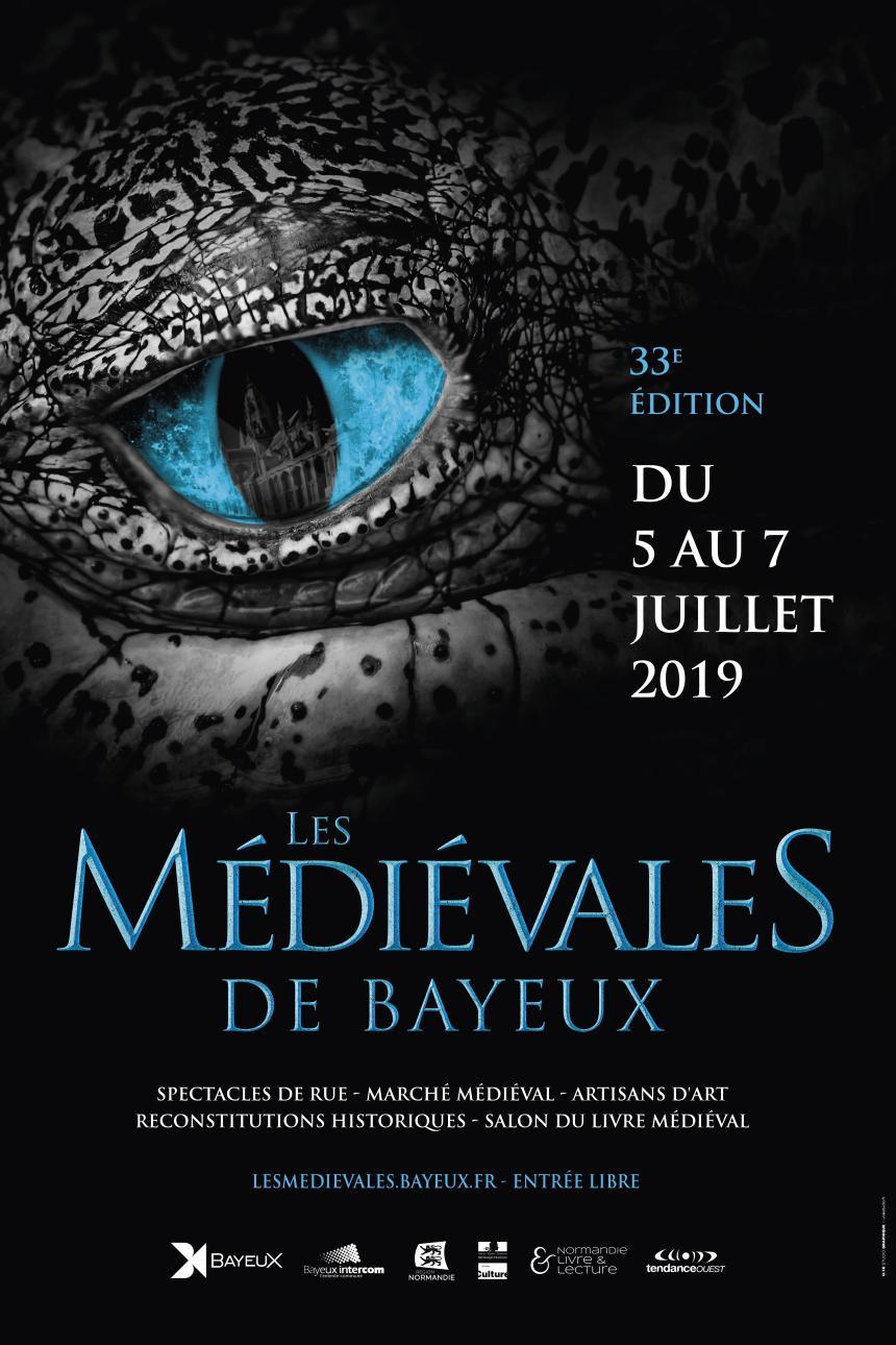 Affiche des 33es Médiévales de Bayeux