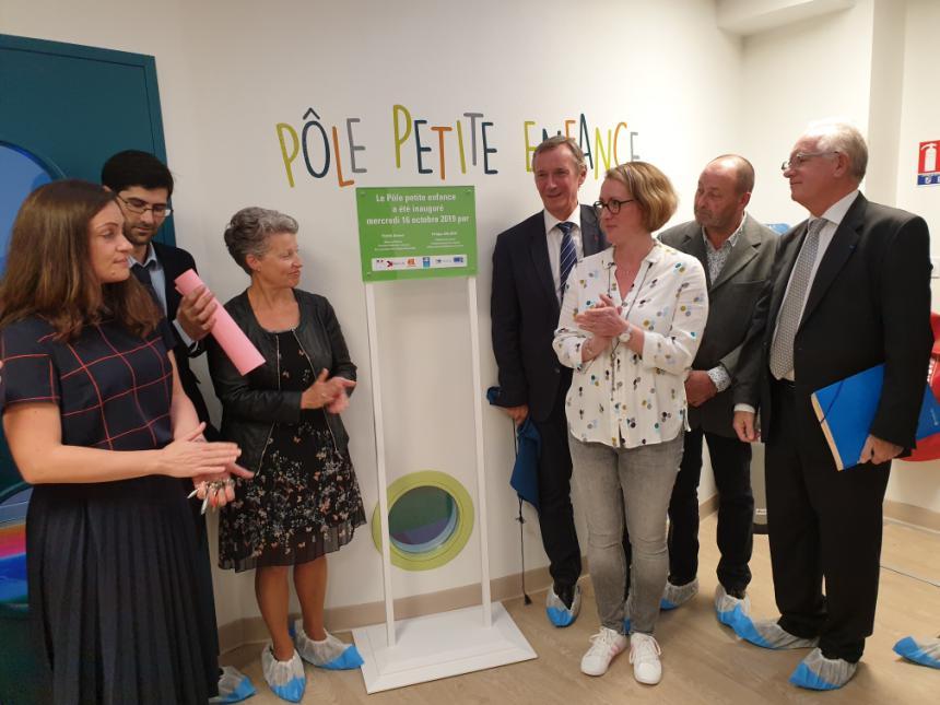 Inauguration officielle du Pôle petite enfance à Bayeux