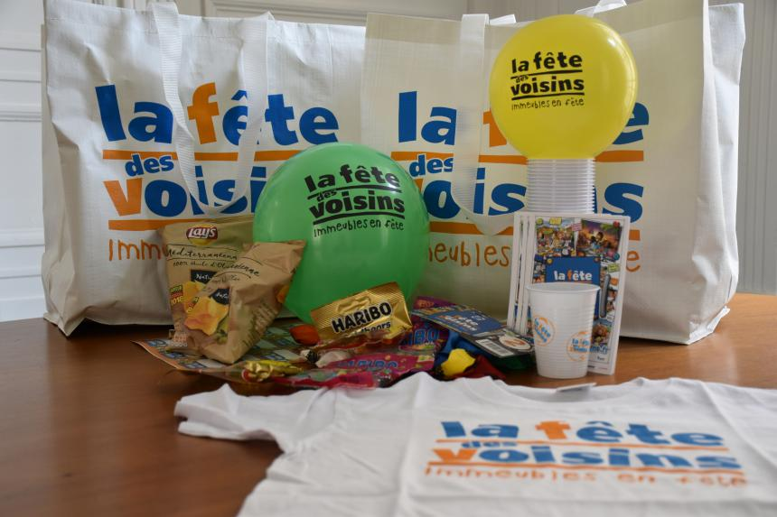 Kit pour la fête des voisins à Bayeux