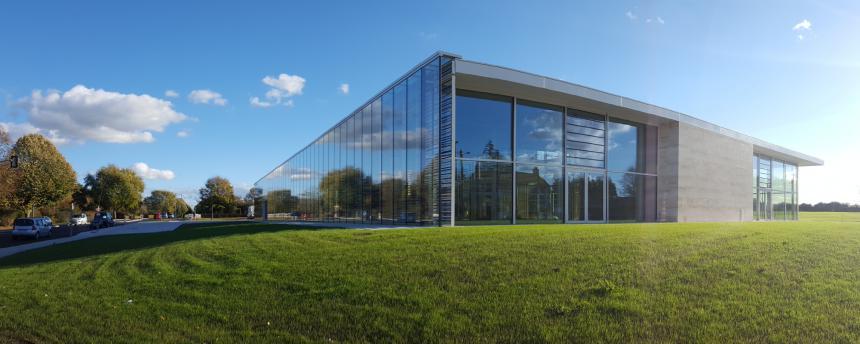 Nouvelle médiathèque intercommunale Les 7 lieux à Bayeux