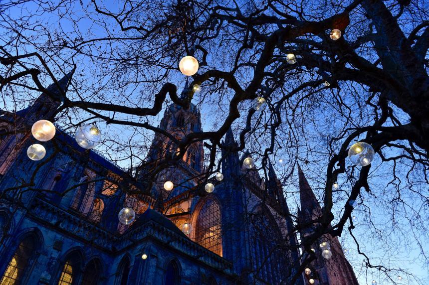 Illuminations de Noël à Bayeux
