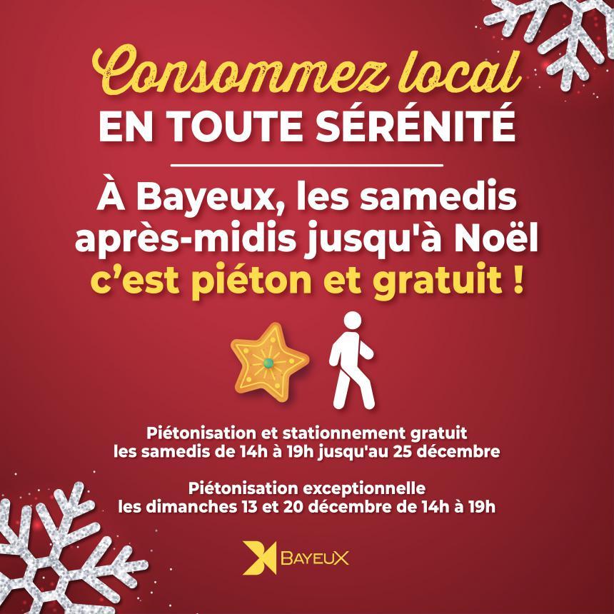 Piétonisation du centre-ville de Bayeux jusquà Noël