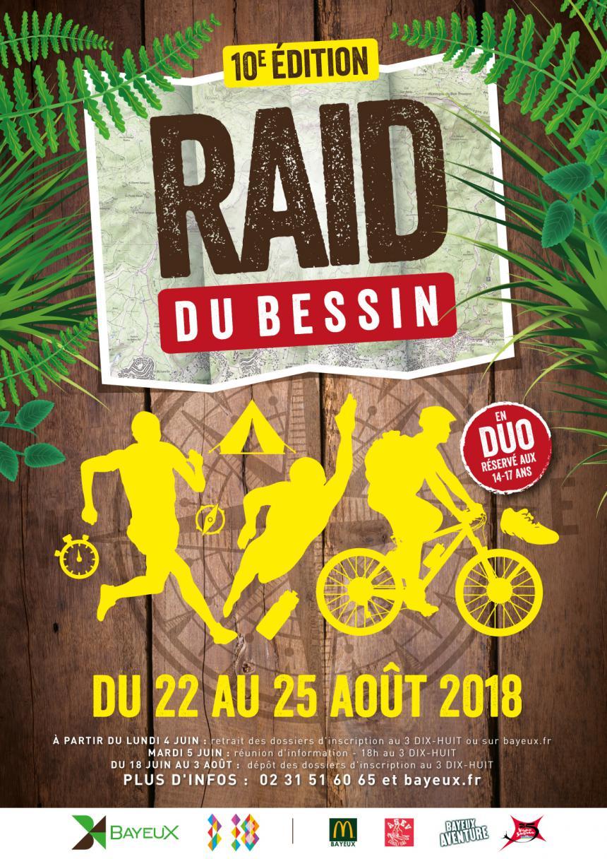 Affiche Raid du Bessin Bayeux 2018